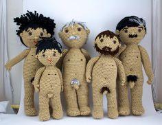 Crochet dolls - in Spanish