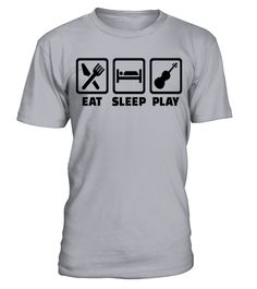 # Eat Sleep Play Violin T Shirt .  HOW TO ORDER:1. Select the style and color you want: 2. Click Reserve it now3. Select size and quantity4. Enter shipping and billing information5. Done! Simple as that!TIPS: Buy 2 or more to save shipping cost!This is printable if you purchase only one piece. so dont worry, you will get yours.Guaranteed safe and secure checkout via:Paypal   VISA   MASTERCARD