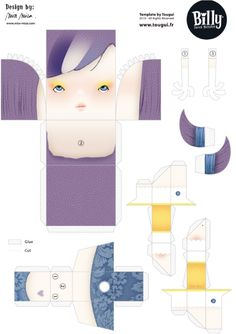Blog_Paper_Toy_papertoy_Billy_Sweet_Monster_Miss_Miza_template_preview