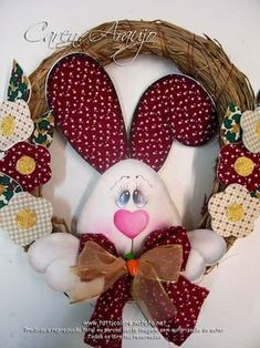 description - Lilly is Love Easter Projects, Easter Crafts For Kids, Projects To Try, Sewing Projects, Easter Ideas, Rabbit Crafts, Bunny Crafts, Felt Christmas, Christmas Ornaments