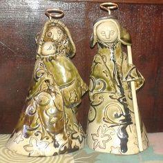 Presépio da autoria de Maria da Nazaré França #presepiosjj #presepios #coleção #coleccao #coleccionismo #colecionismo #hobby #passatempo #gosto #collection #nativity #barro #clay #handicraft #artesanato