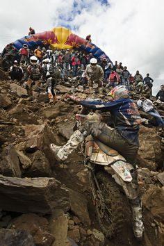 Redbull Erzberg rodeo 2011: Hand And Feet