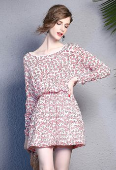 Colorful Casual Silk Dress Summer Dress Enice from Enice Fashion by DaWanda.com