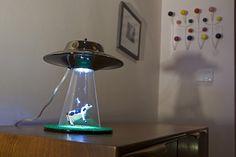 Alien Abduction Lamp z: