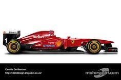 Retro F1 car - Ferrari 1996