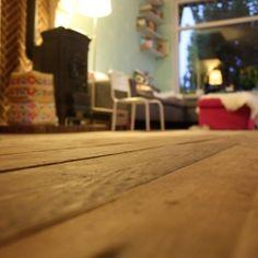 Studio Fien Projecten vloer sloophout