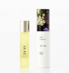 uka nail oils are used by the glitterati of Japan to hydrate nails and cuticles all day and on-the-go. Each time stamp has a unique scent that can also be used as a perfume or for aromatherapy. These multi-functional nail oils are a...