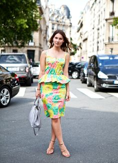 #peplum #floral #fashion #FashionCherry