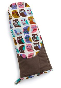 If You Can't Stand the Hoot Oven Mitt, #ModCloth
