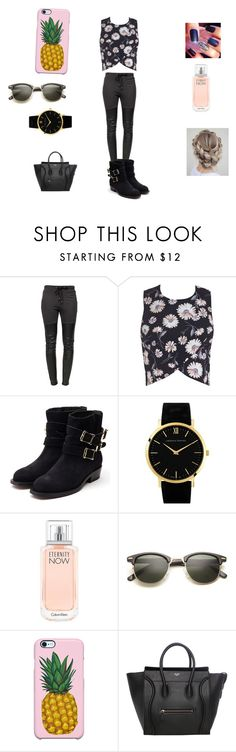 """me going out on the weekend"" by pu11girl ❤ liked on Polyvore featuring мода, Ragdoll, Miss Selfridge, Rupert Sanderson, Larsson & Jennings, Calvin Klein и Uncommon"
