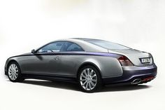 maybach   Maybach Coupe 57S: Official Pictures of Limited Production Special by ...
