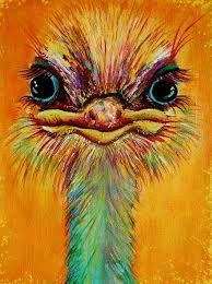 """Résultat de recherche d'images pour """"ostrich painting"""""""