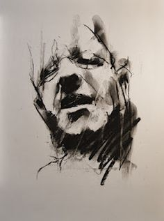 A drawing a day. Stark and beautiful imagery. Charcoal Portraits, Artsy, Drawings, Beautiful, Drawing, Paintings, Paint, Draw