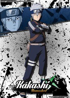 This was a commission for - Kakashi Hatake is from Naruto Kakashi Hatake is a jōnin of Konohagakure. Kakashi Hatake Face, Kid Kakashi, Kakashi Sensei, Anime Naruto, Naruto Shippuden Sasuke, Itachi, Naruto Mobile, Naruto Wallpaper, Naruto Characters