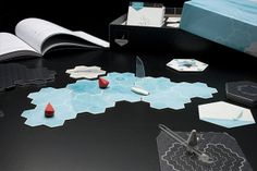 Navigia Board Game by Javier García, via Behance