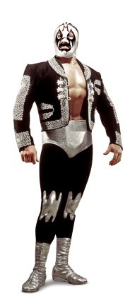 """Mil Mascaras Height: 5'11"""" Weight: 245 lbs. From: San Luis Potosi, Mexico Signature Move: Plancha Career Highlights: First masked man to compete in Madison Square Garden; 2012 WWE Hall of Fame Inductee"""