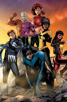 Nightwing & Outsiders