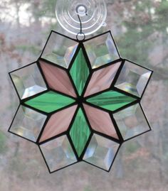 Stained Glass Suncatcher, Quilt Pattern - $24.00, via Etsy.