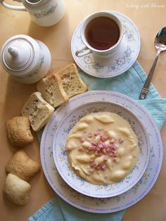 Baking with Blondie : Mac & Cheese Soup with Ham