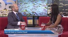 """Sands & Associates' Blair Mantin shares professional tips and insights that every consumer should know. As Blair explains to Global News Vancouver, """"Not all debts are created equal"""" and what you don't know, can hurt you. Global News, Money Matters, Sands, Debt, Equality, Insight, It Hurts, Watch, Create"""