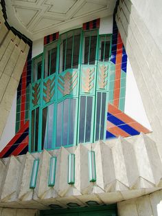 Wouldn't mind having an Art Deco themed wedding at the Hoover Building in London! Photo by Andrew Middleton via Flickr