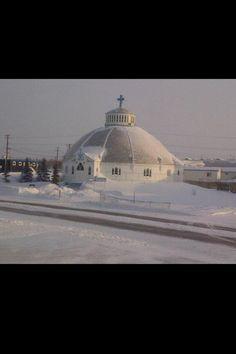 OL Victory - Igloo Church in Inuvik