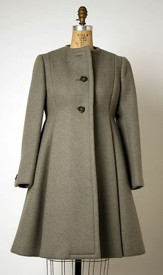 Coat  Geoffrey Beene (American, 1927–2004)  Date: 1963–69 Culture: American Medium: wool