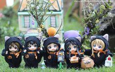 "K-On! Nendoroid Halloween"" figure photo by Sheng Gonzales"