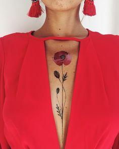 Beautiful straight up poppy