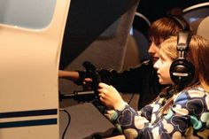 Flight Club Museum of Flight Seattle, WA #Kids #Events