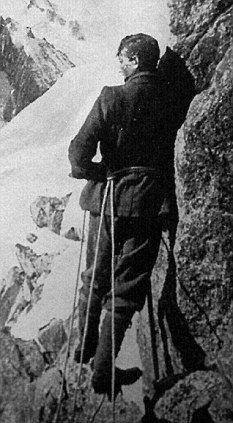 "George Mallory (1909). He and climbing partner, Andrew Irvine,  disappeared on Mt. Everest June 8, 1924.  Mallory's body was found frozen in 1999 with a broken leg, presumably from a fall. ""Privately, Mallory had written to Ruth of 'looking out of a tent door on to a world of snow and vanishing hopes'. "" Read more: http://www.dailymail.co.uk/home/books/article-2059890/No-choice-climb--die-INTO-THE-SILENCE-THE-GREAT-WAR-MALLORY-AND-THE-CONQUEST-OF-EVEREST-BY-WADE-DAVIS.html#ixzz2kMwkBtM4"