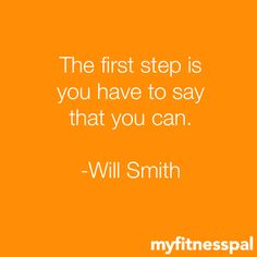 Say you can! #myfitnesspal