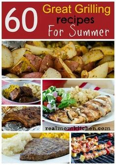 60 great grilling recipes.