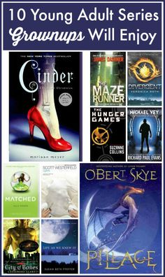Love reading what my teenagers are reading. This is a great list of YA (young adult) series adults will enjoy reading.