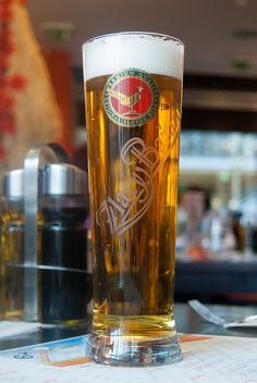 The most popular Slovak beer - Zlaty Bazant (Golden Rookie)