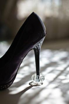 c142dd7f28f Amazon.com  Crystal Starlettos Heel Protector  Shoes High Heel Protectors