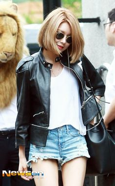 SNSD Sooyoung's Way of Matching Leather Jackets | Leather Jacket Styling Tips