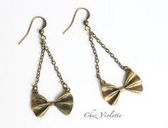 Colorful Bar earrings, Multicolor Beaded earrings, Clear Glass Beads, Lozenge…