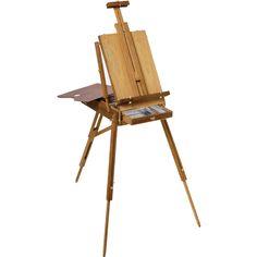 Utrecht Full Box French Easel w/ Shoulder Bag, Lined Drawer, Max Canvas