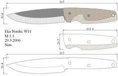 Чертежи ножей для изготовления. Часть 2 | LastDay Club image 84