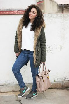 Sparkly Fashion: Matchy-matchy olive green