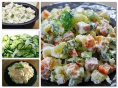 Egyik finomabb, mint a másik! Meat Recipes, Cooking Recipes, Healthy Recipes, Health Lunches, Cold Dishes, Hungarian Recipes, Potato Salad, Food Photo, Food And Drink