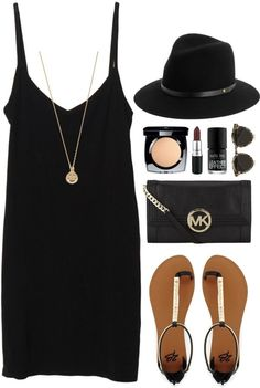 All black and classy