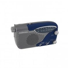 Emerson RP6289 AM/FM Portable Radio with Flashlight by Emerson. $30.98. This item is Brand NewFeatures * AM/FM portable radio with flashlight * 2:30 power ratio - Each 2 minutes of winding provides 30 minutes of radio operation * Internal, rechargeable Ni-MH battery included * Built-in flashligr