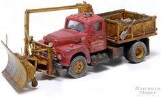 PRR MOW truck Antique Toys, Vintage Toys, Weather Models, Rc Vehicles, Hobby Trains, Rc Crawler, Snow Plow, Vintage Models, Toy Trucks