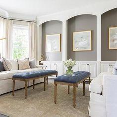 Living Room Wall Niche Design Ideas Niche Decor, Art Niche, Wall Decor, Transitional Home Decor, Transitional Living Rooms, Salon Art Deco, Interior Design Guide, Niche Design, Chic Living Room