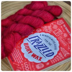 After a stash dive this evening it seems my stash is sadly lacking red yarn these days (but maybe good excuse to buy some ) ...I'm shocked by this but happily seeking out new hand dyers (suggestions in comments plz!) but it's always stocked with one of my favourites... @malabrigoyarn #finito ...can't ever get enough of this yarn!! The most softest squishy yarn ever!! Oh and I would highly recommend the book if you are interested in learning about/practising mindfulness #mindfulnessmatters…