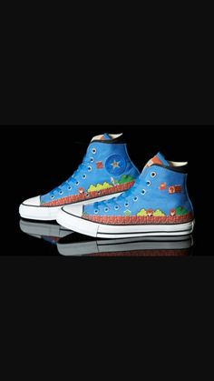 83544a33c9aa The Best Men s Shoes And Footwear   Converse x Nintendo Super Mario Bros  Chuck Taylor Hi Part 2 1 pic on Design You .