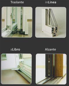 Sistemi Vetrati Scorrevoli  Le soluzioni per le vetrate scorrevoli SIMAR sono in grado di valorizzare qualsiasi tipo di edificio, quale che sia la sua tipologia, architettura moderna, residenza d'epoca o casale rustico.