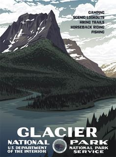 Glacier National Park, new construction on Flathead Lake, www.landingatsomersbay.com